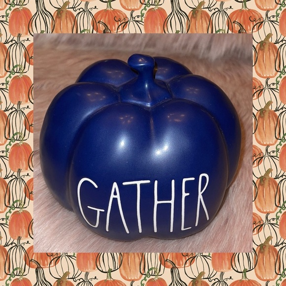 RAE DUNN  |  GATHER Pumpkin